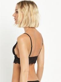 Piped Lace Bra