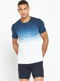 Neck Ombre T-Shirt