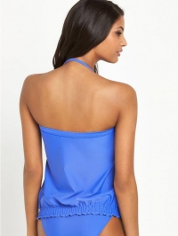 Resort TankiniI top blue