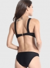 Black Solid Bikini