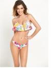 Floral Frill Bikini Set