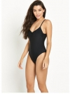 High Leg Swimsuit - Black