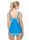 Double Up Tankini- blue