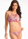 Floral String Bikini Set